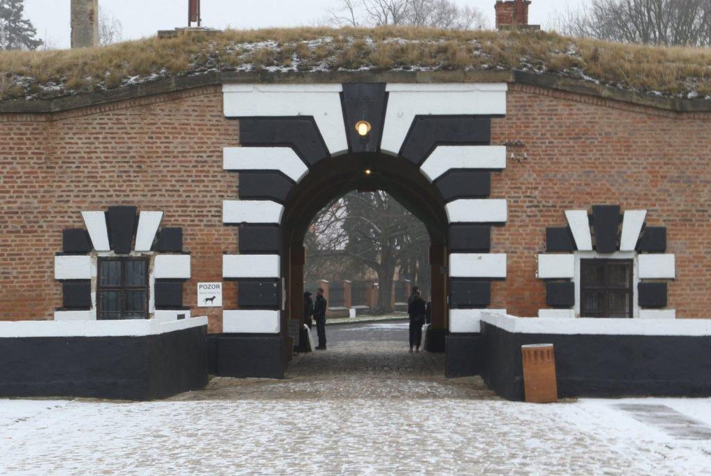 Terezin Memorial Gate