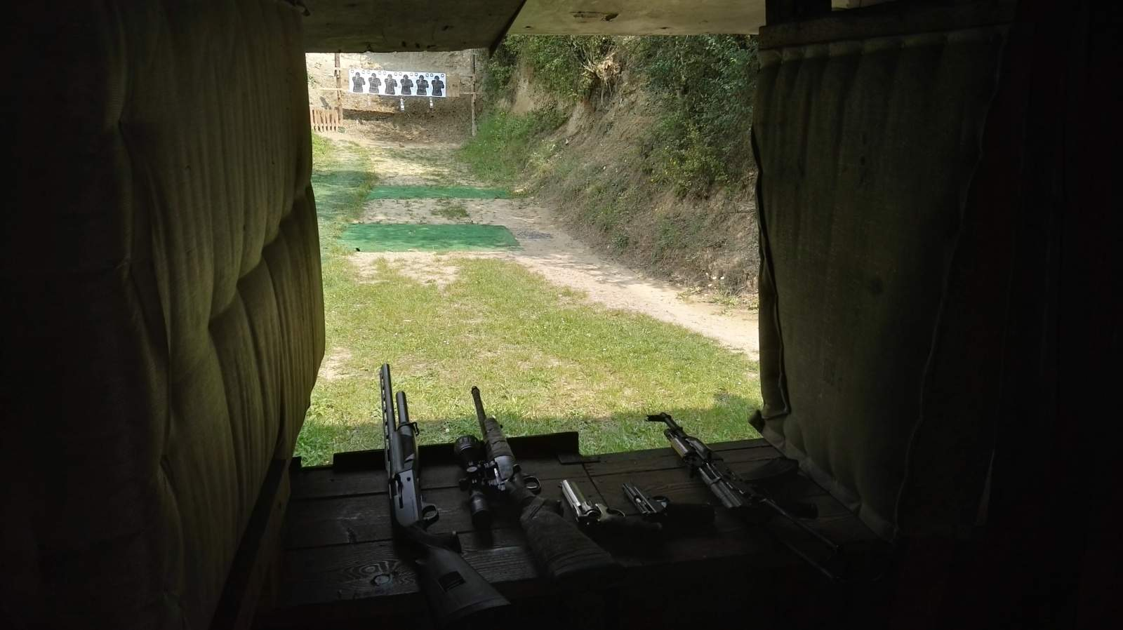Bysice shooting range