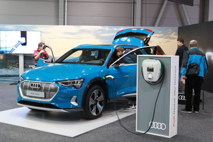 Electric Car - Audi Etron