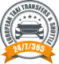24/7/365 European Taxi & Transfers | Chauffeured cars and minivans to hire in Europe