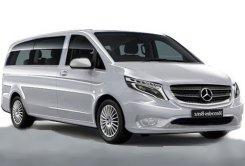 Mercedes Benz Vito - private minibus to hire