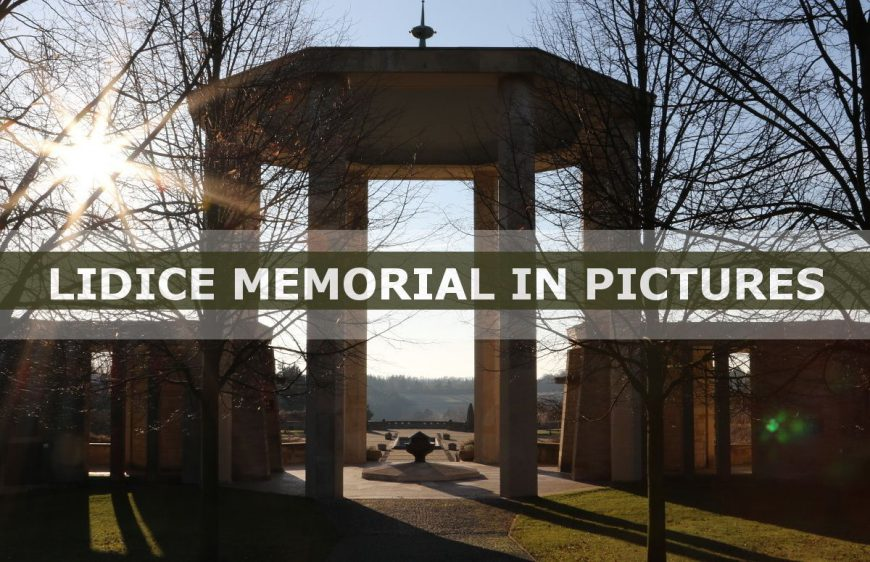 Step by step visit through the Lidice Memorial – private tour in pictures