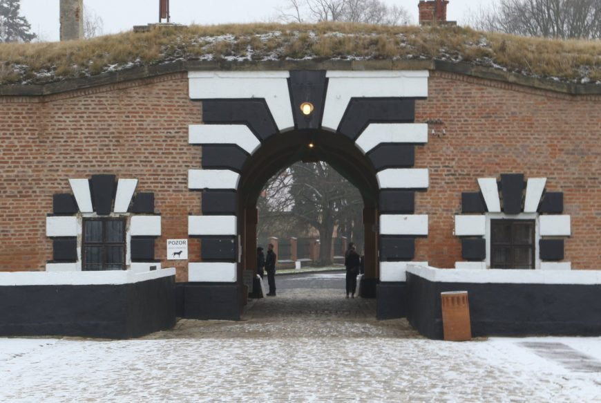 Terezin Memorial Gate