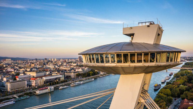 UFO Restaurant in Bratislava