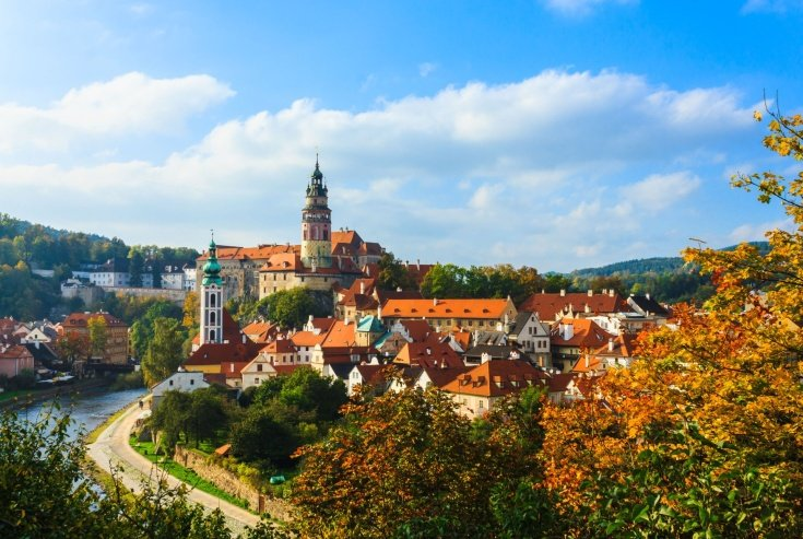 UNESCO Heritage site Cesky Krumlov