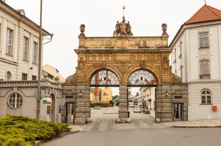 Pilsner Brewery Gate