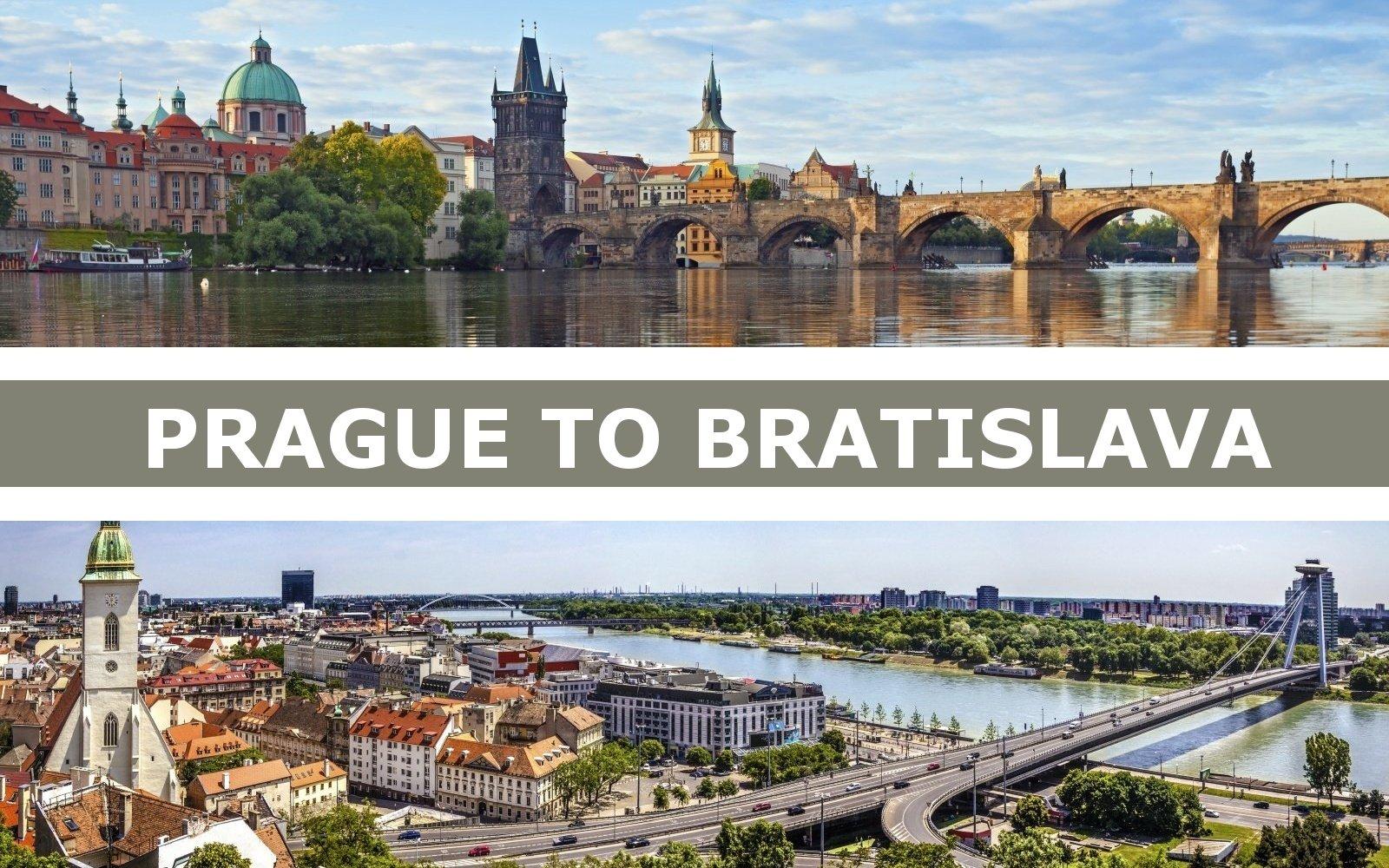 Taxi transfer from Prague to Bratislava