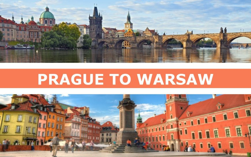 Transportation from Prague to Warsaw