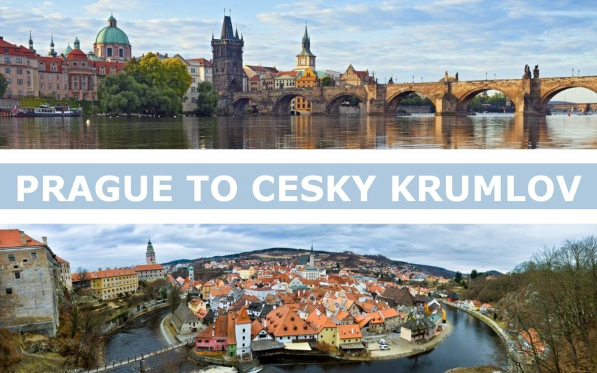 Transportation from Prague to Cesky Krumlov