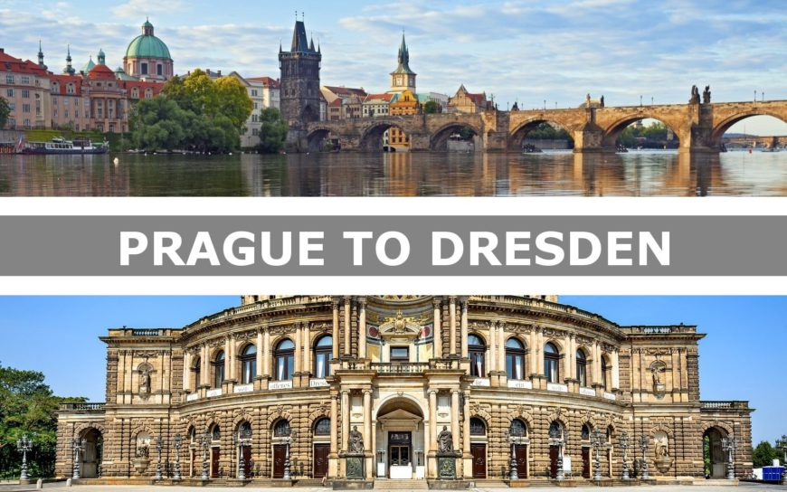 Transportation from Prague to Dresden