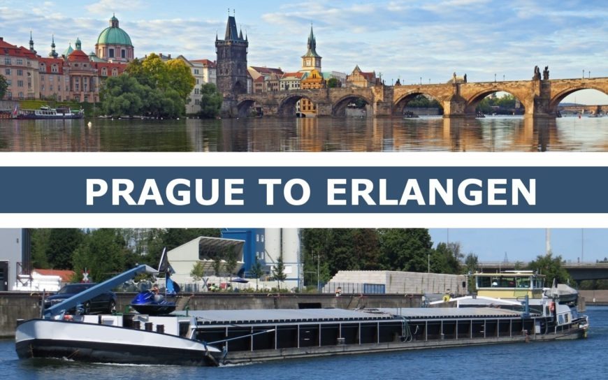 Transportation from Prague to Erlangen