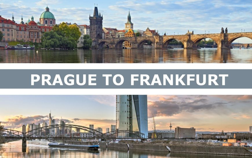 Transportation from Prague to Frankfurt am Main