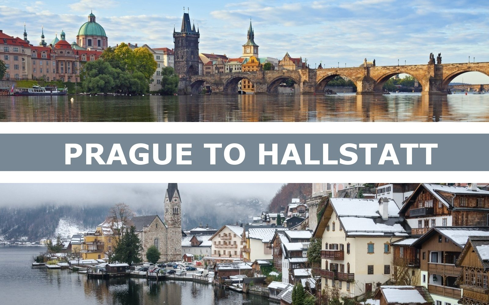 Transportation from Prague to Hallstatt