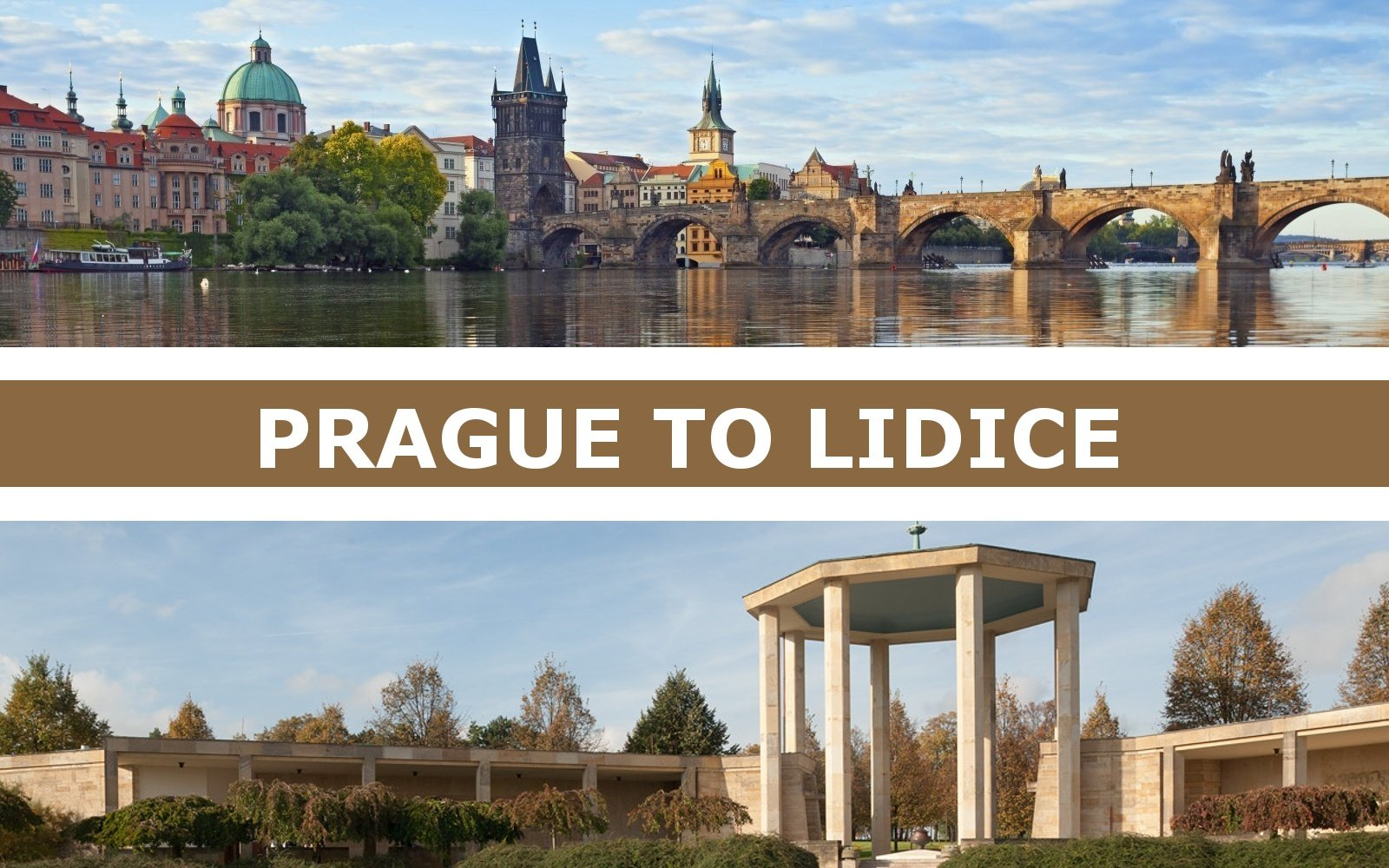 Transportation from Prague to Lidice