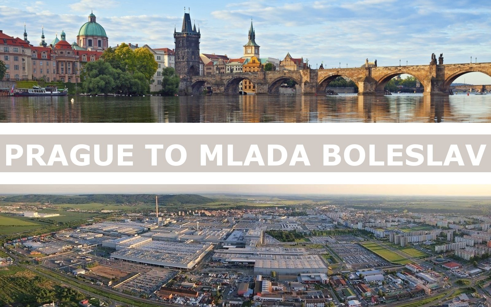 Transportation from Prague to Mlada Boleslav