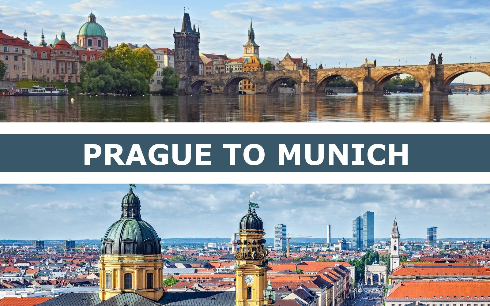 Transportation from Prague to Munich