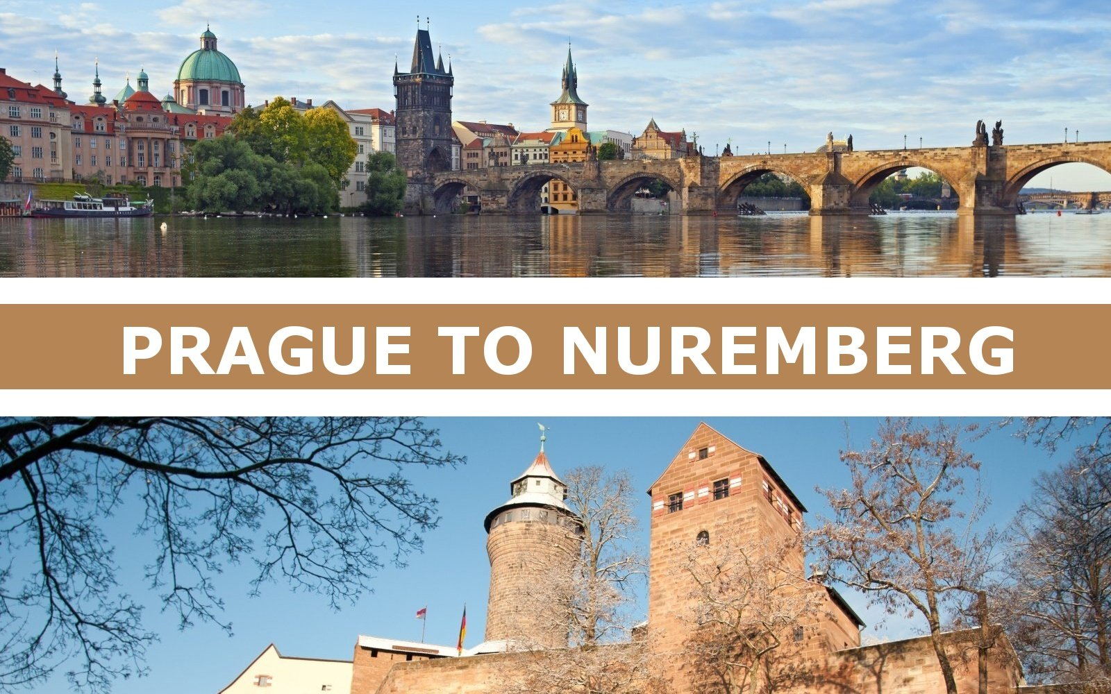 Transportation from Prague to Nuremberg