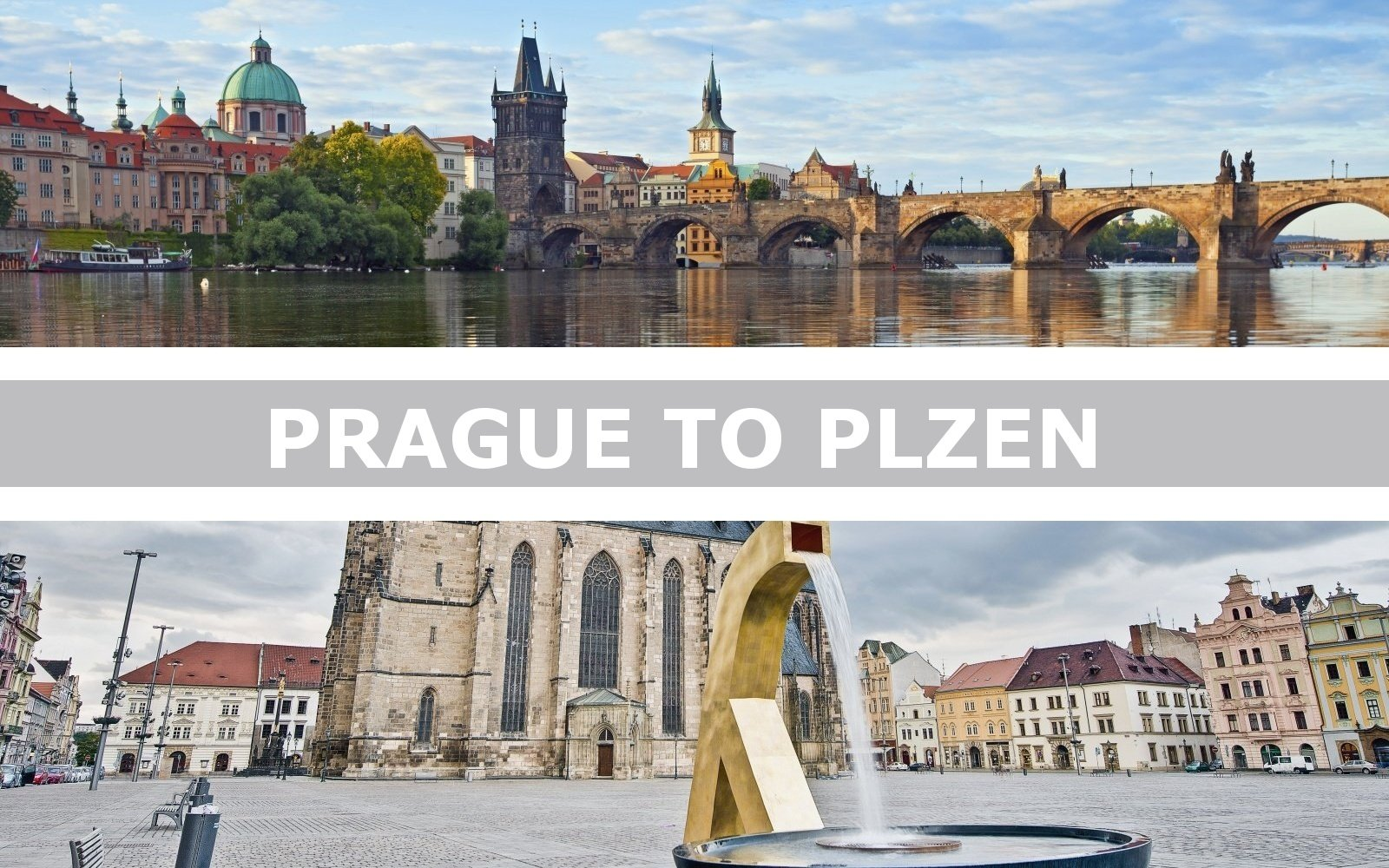 Transportation from Prague to Plzen