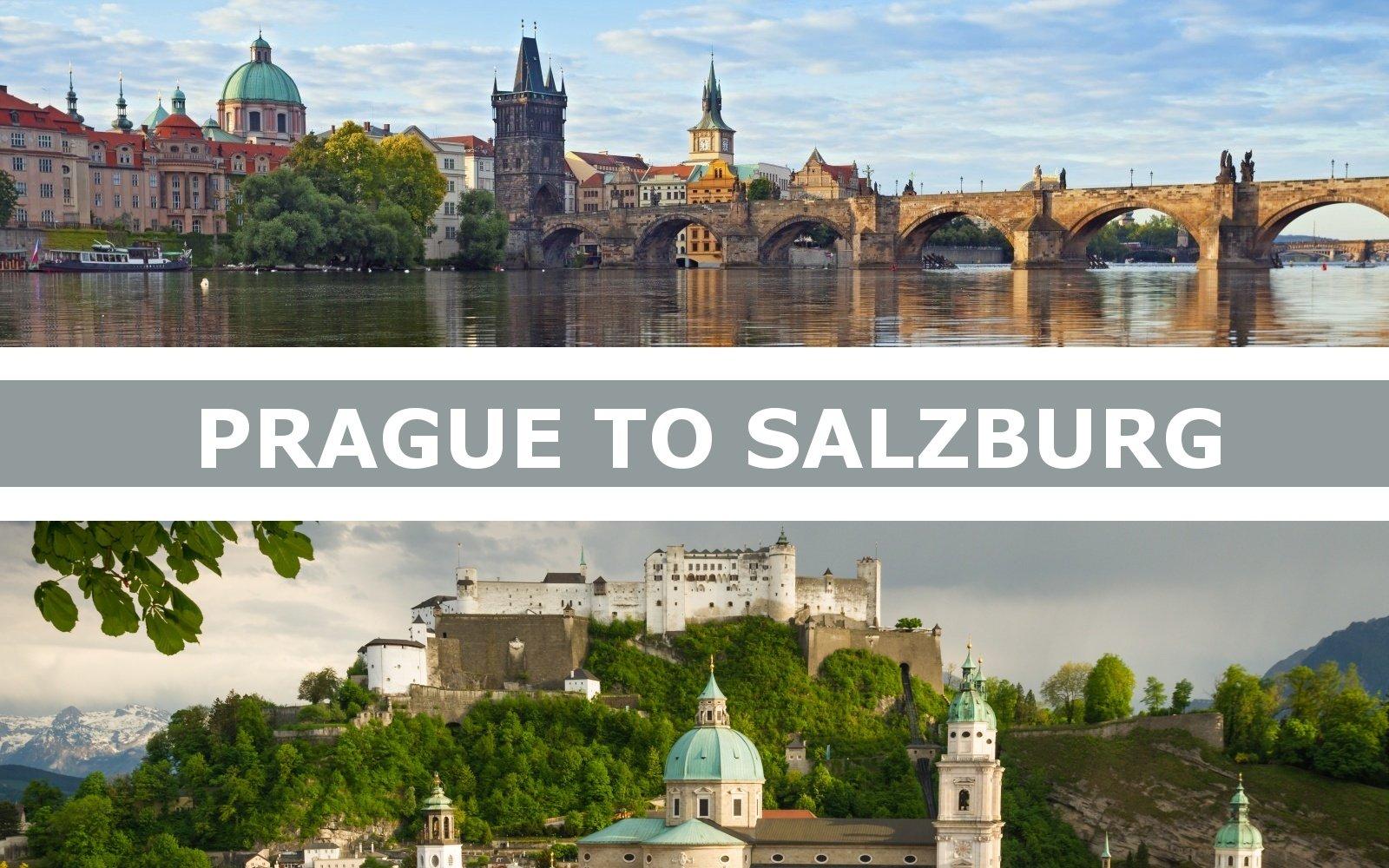 Transportation from Prague to Salzburg