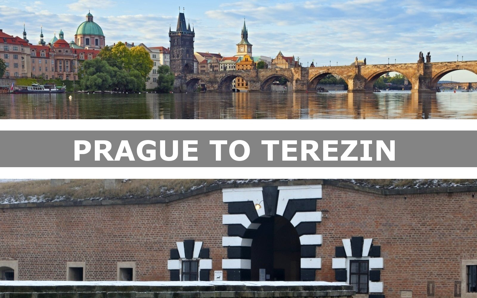 Transportation from Prague to Terezin