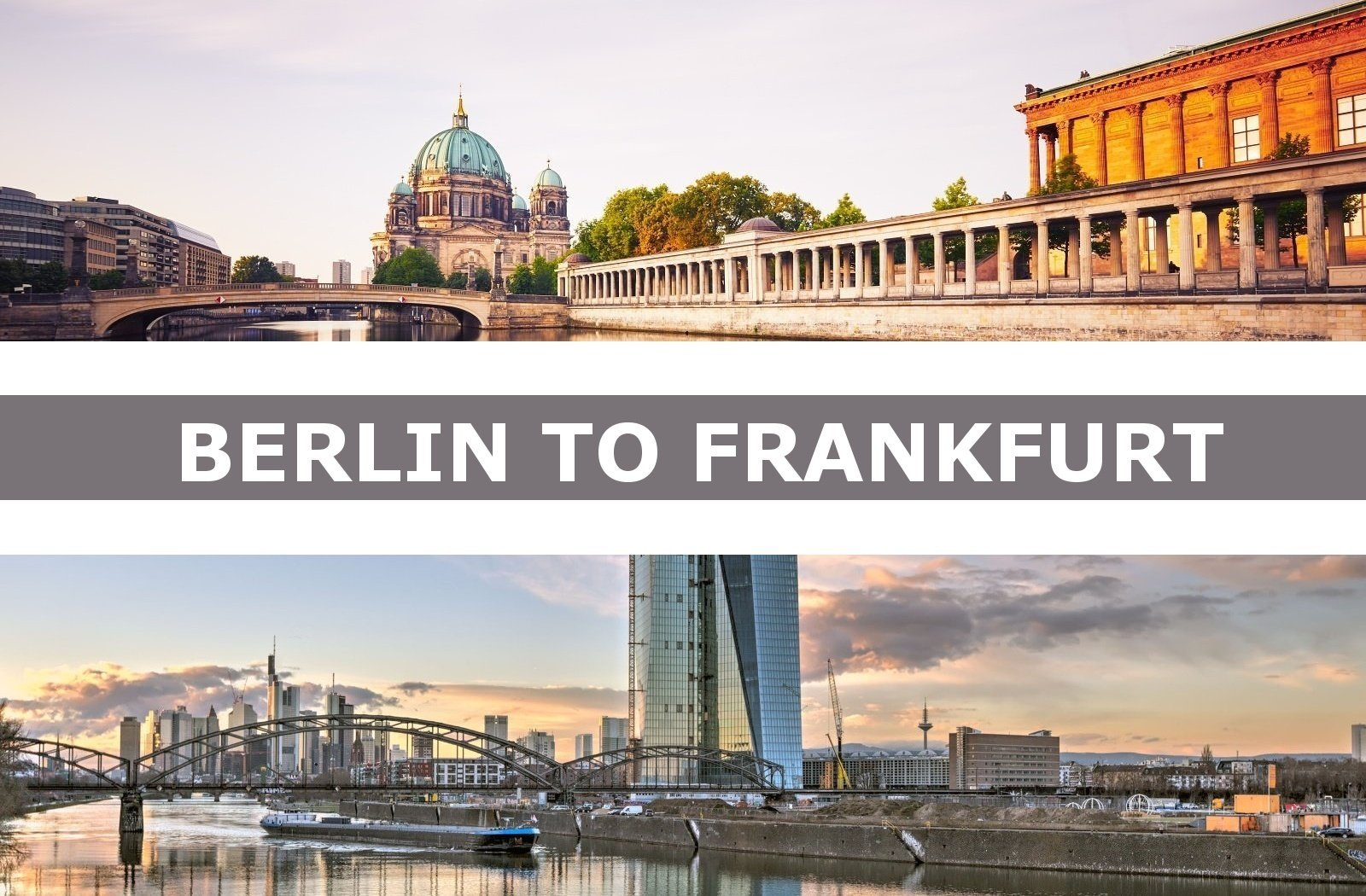 Taxi from Berlin to Frankfurt am Main