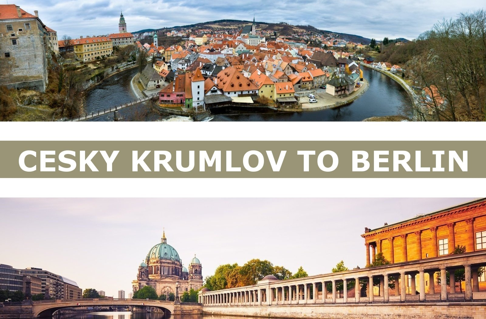 Taxi from Cesky Krumlov to Berlin