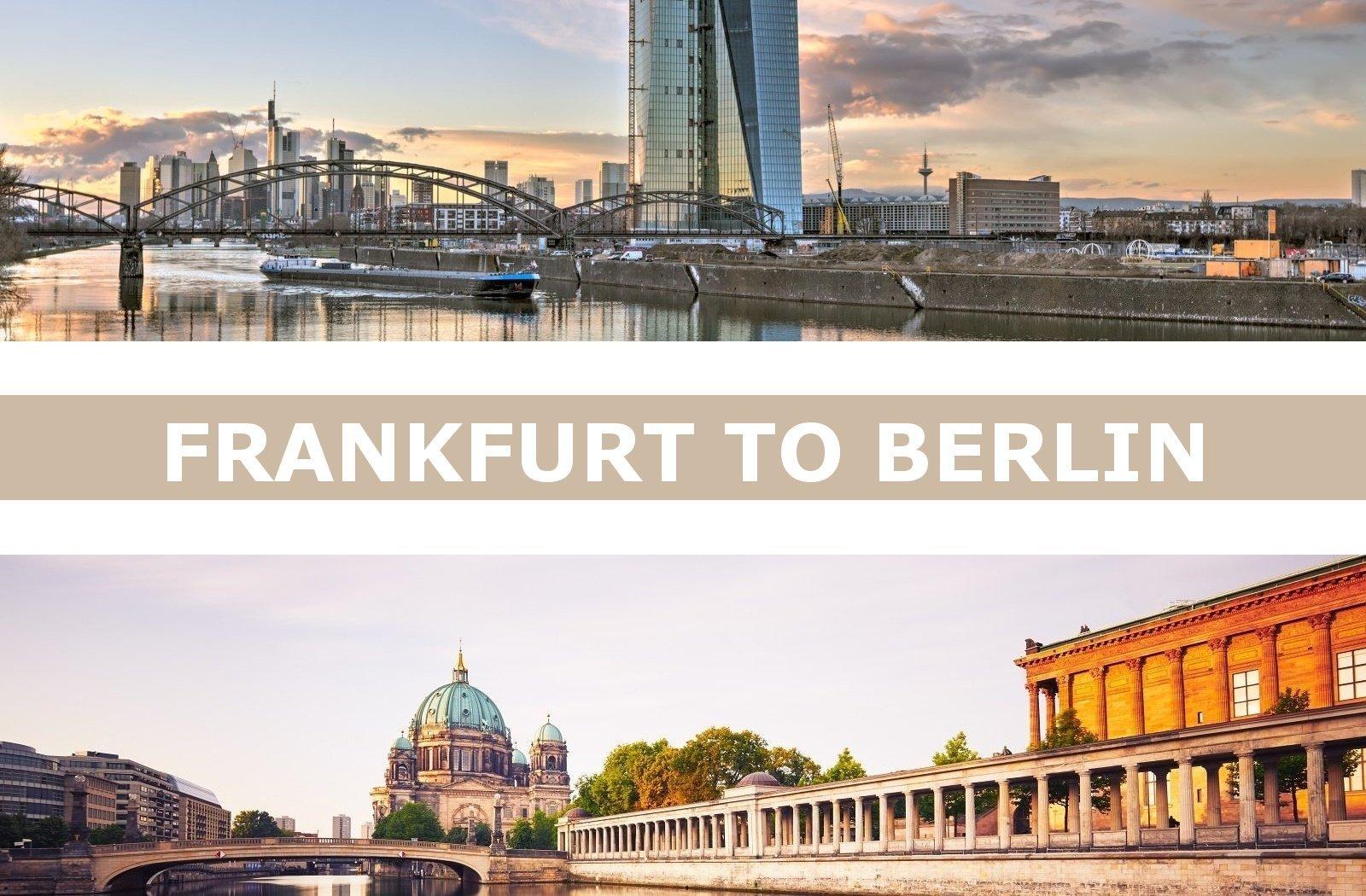 Taxi transfers from Frankfurt am Main to Berlin