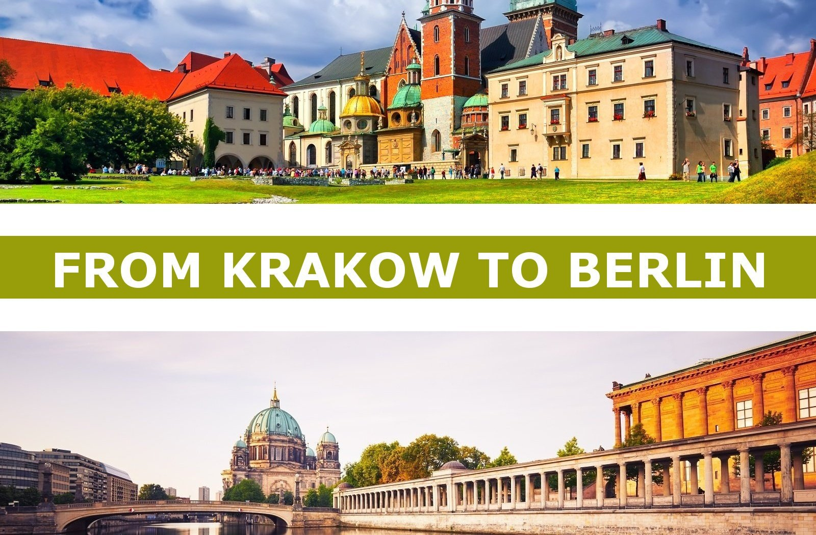 Taxi transfer from Krakow to Berlin