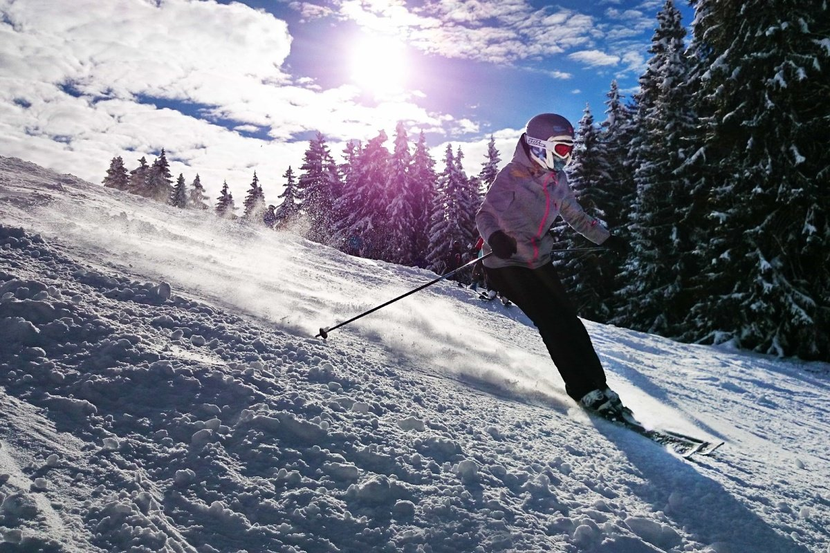 Skiing in Spindleruv Mlyn