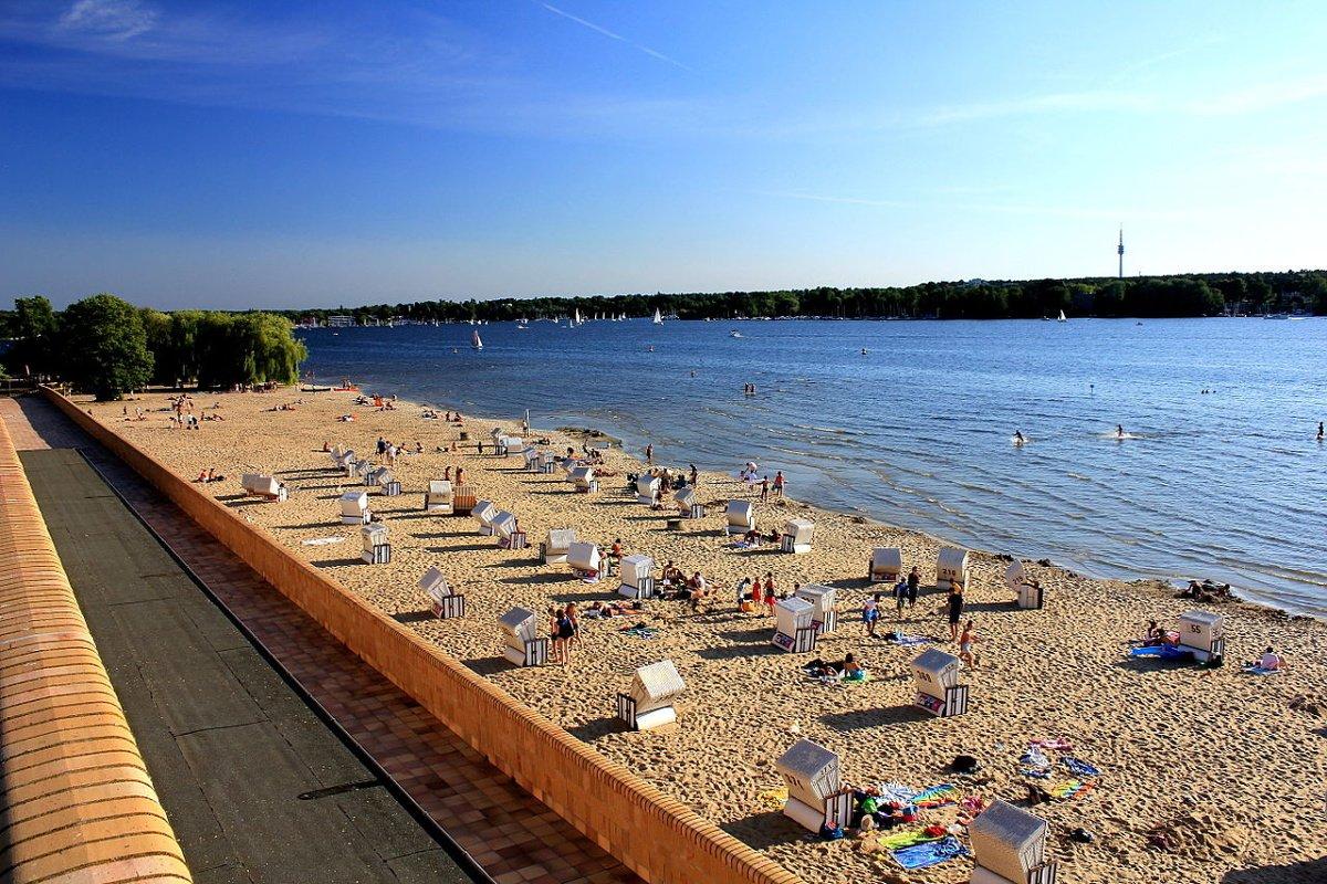 Beach in Wannsee