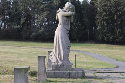 Statue - Crying Woman - Lidice Memorial