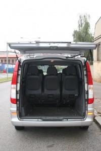 spacious minibus prague